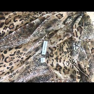 Beautiful animal print long vest